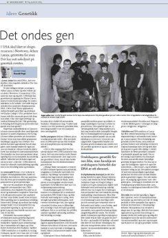 Denne artikkelen sto på trykk i Morgenbladet 18. januar 2013 (Faksimile: Morgenbladet)