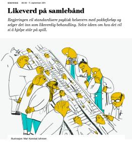Denne artikkelen ble publisert i Morgenbladet 11. september 2015 og kan leses i sin helhet her.